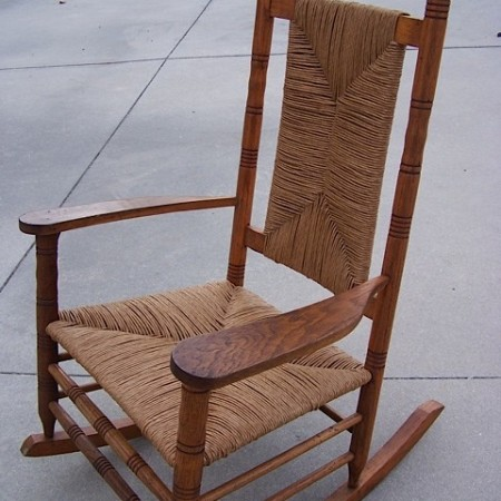 Rocker Refinished and Canned
